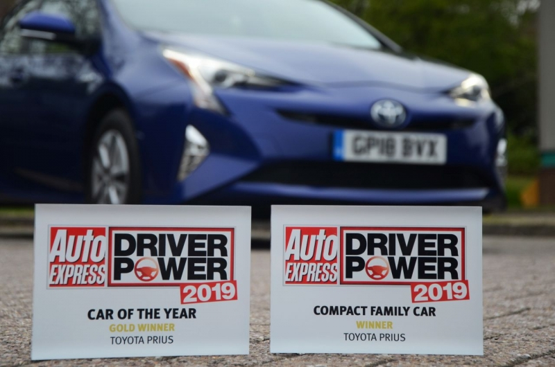 Driver Power Survey Award 2019 © Toyota