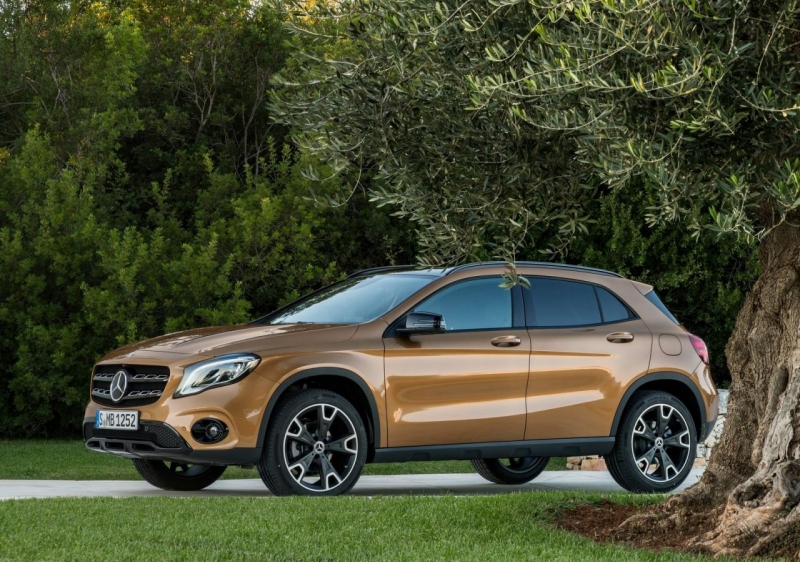 Mercedes-Benz GLA 250 © Mercedes