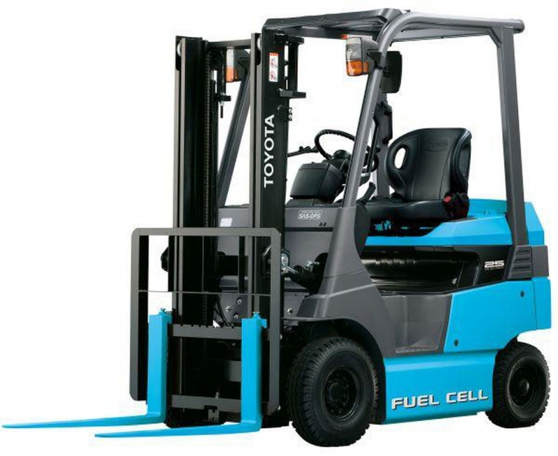Toyota Fuel Cell forklifts © Toyota