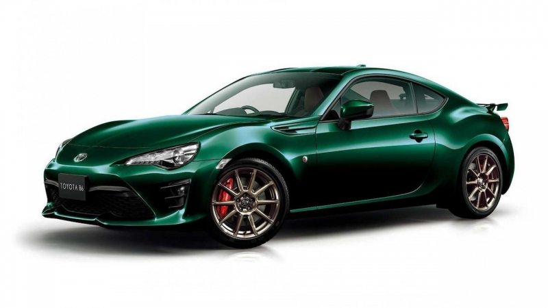 Toyota GT86 British Green Limited © Toyota