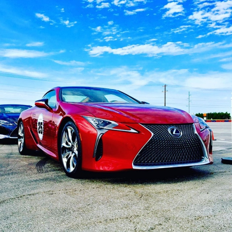 Lexus Performance Driving School © Lexus