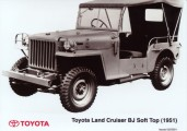 1951 Toyoty Land Cruiser BJ Soft Top ©Toyota